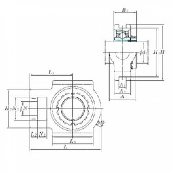 KOYO UKT213 bearing units #3 image