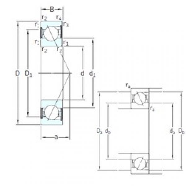 75 mm x 130 mm x 25 mm  75 mm x 130 mm x 25 mm  SNFA E 275 /S /S 7CE3 angular contact ball bearings #3 image