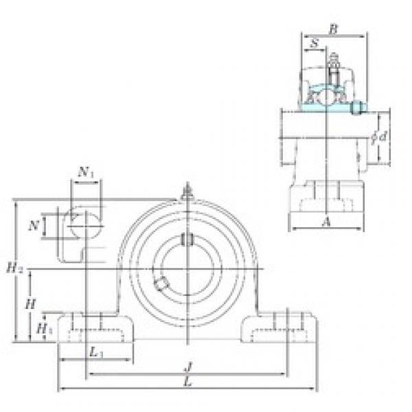 KOYO UCP215-47SC bearing units #3 image