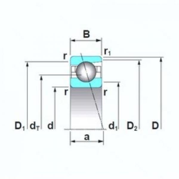 10 mm x 30 mm x 9 mm  NTN 6200  Angular Contact Ball Bearings #2 image