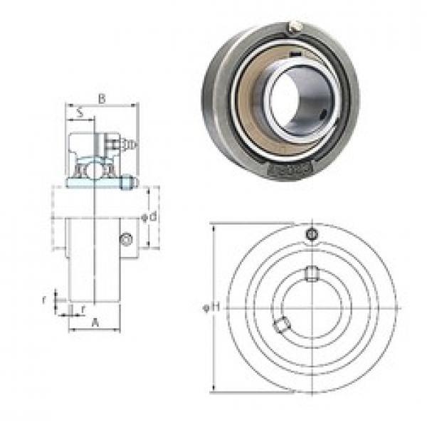 FYH UCC206-19 bearing units #3 image