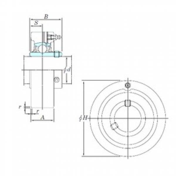 KOYO UCC207-20 bearing units #3 image