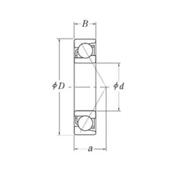 28,575 mm x 63,5 mm x 15,875 mm  28,575 mm x 63,5 mm x 15,875 mm  RHP LJT1.1/8 angular contact ball bearings #3 image