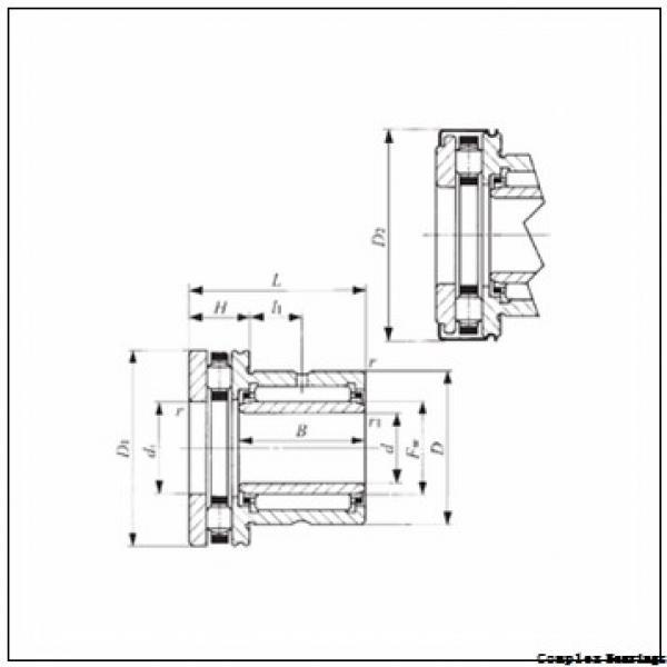 35 mm x 55 mm x 27 mm  35 mm x 55 mm x 27 mm  NTN NKIA5907 complex bearings #1 image