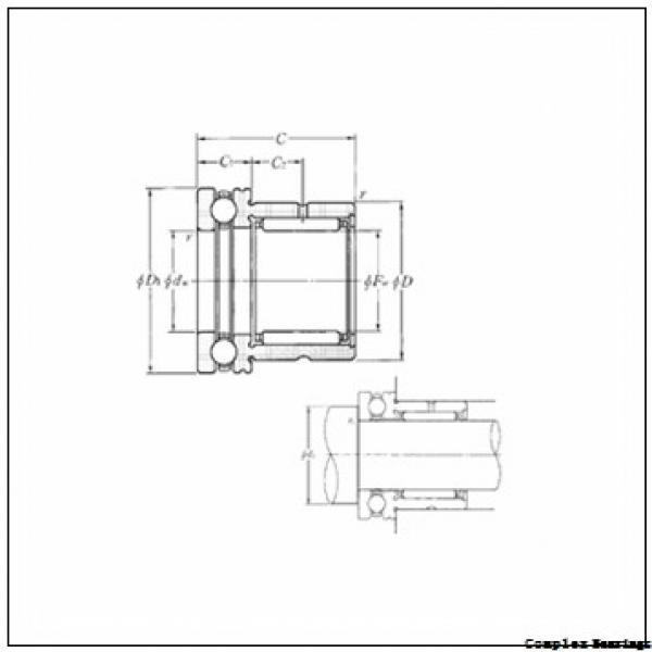 55 mm x 80 mm x 34 mm  55 mm x 80 mm x 34 mm  ISO NKIA 5911 complex bearings #2 image