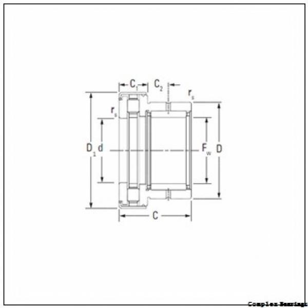 35 mm x 55 mm x 27 mm  35 mm x 55 mm x 27 mm  NTN NKIA5907 complex bearings #2 image
