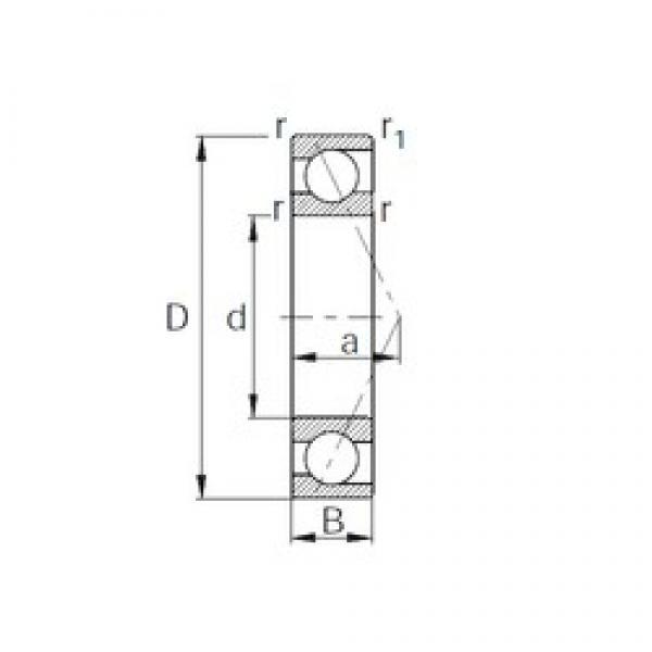 70 mm x 150 mm x 35 mm  70 mm x 150 mm x 35 mm  CYSD 7314 angular contact ball bearings #3 image