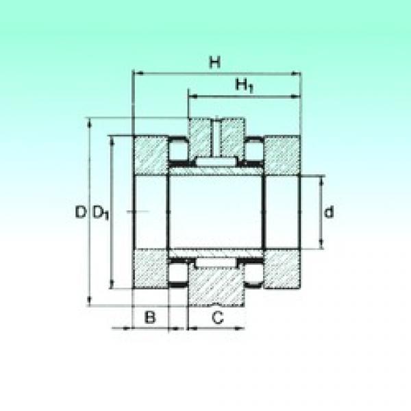 35 mm x 70 mm x 11 mm  35 mm x 70 mm x 11 mm  NBS ZARN 3570 TN complex bearings #3 image
