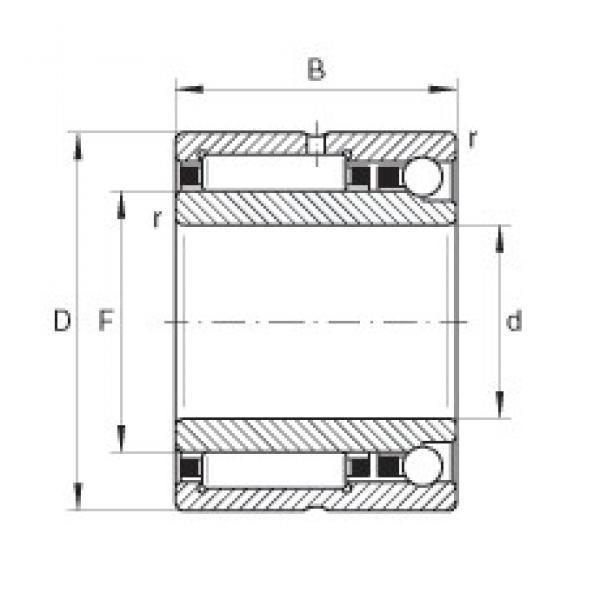 15 mm x 28 mm x 18 mm  15 mm x 28 mm x 18 mm  INA NKIA5902 complex bearings #3 image