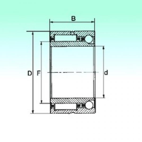 55 mm x 80 mm x 34 mm  55 mm x 80 mm x 34 mm  NBS NKIA 5911 complex bearings #3 image