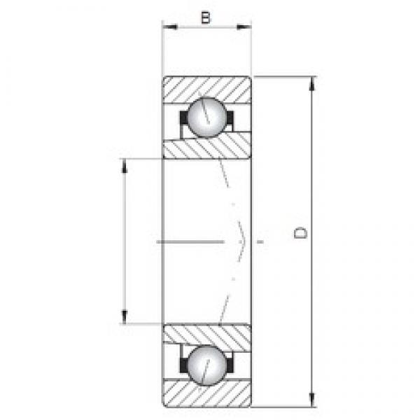 ISO 71964 C angular contact ball bearings #3 image