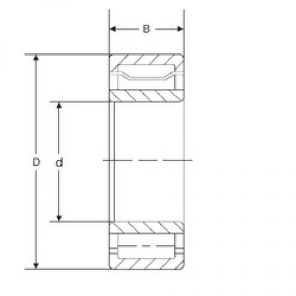 55 mm x 120 mm x 49,2125 mm  55 mm x 120 mm x 49,2125 mm  SIGMA A 5311 WB cylindrical roller bearings #3 image