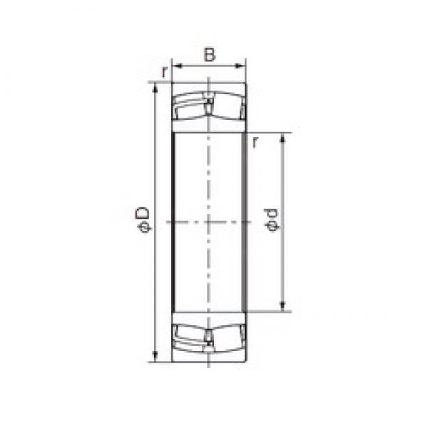 140 mm x 210 mm x 69 mm  140 mm x 210 mm x 69 mm  NACHI 24028EX1 cylindrical roller bearings #3 image