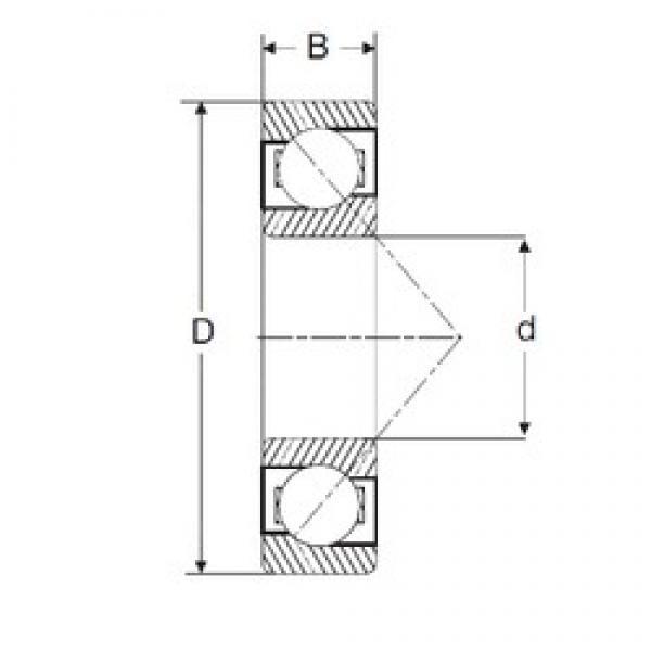 127 mm x 254 mm x 50,8 mm  127 mm x 254 mm x 50,8 mm  SIGMA MJT 5 angular contact ball bearings #3 image