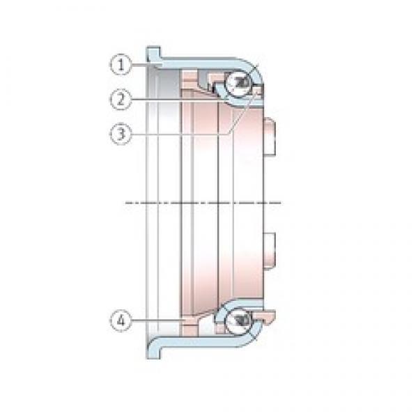 INA F-92846.4 angular contact ball bearings #3 image