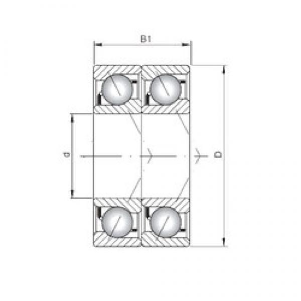 ISO 7238 ADT angular contact ball bearings #3 image