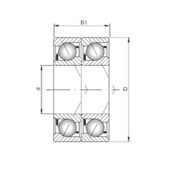 ISO 7318 CDT angular contact ball bearings #3 image